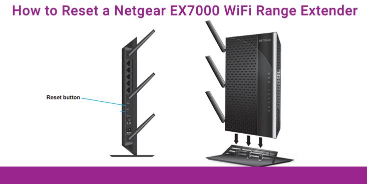 Netgear EX7000 WiFi range extender