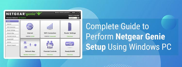 Complete Guide to Perform Netgear Genie Setup Using Windows PC